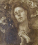 Jeanne d'Arc écoutant les Voix